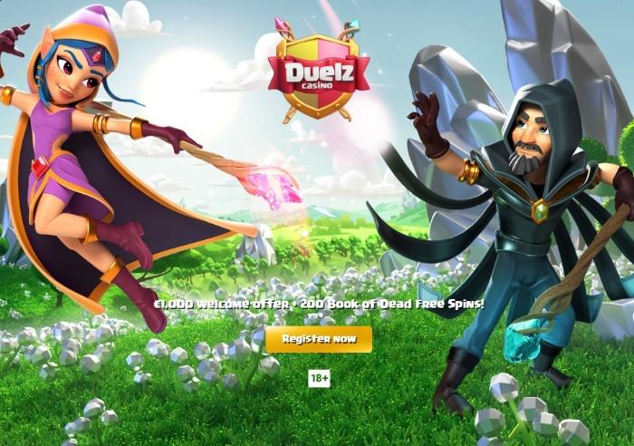 Duelz Casino - trang web đánh bài ăn tiền thật siêu uy tín