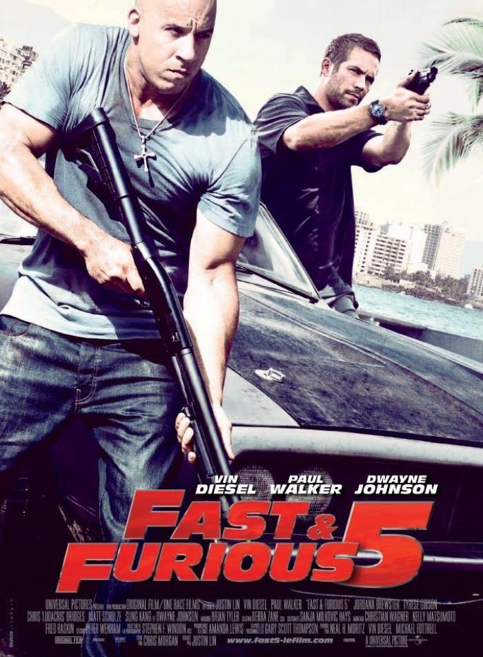 Fast and Furious 5 – một trong 10 bộ phim về siêu trộm